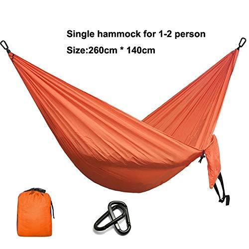 Bureze Camping Hamac Parachute de Survie Jardin extérieur Meubles Leisure Sleeping Hamaca Voyage Hamac Double 300 * 200 cm