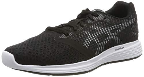 Asics Asics Patriot 10 Gs 1014a025-004, Chaussures de Running mixte enfant - Multicolore ( Black/White), 39 1/2 EU