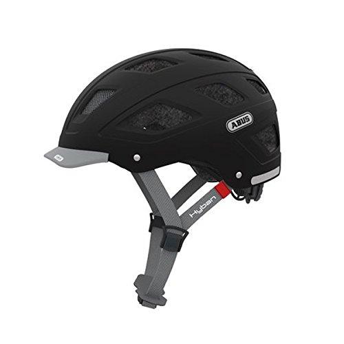 Abus 77219-1 Casco Bicicleta, Unisex Adulto, Negro (Core Black), M