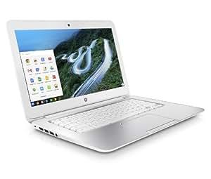 HP Chromebook 14-q030sg 35,6 cm (14 Zoll) Notebook (Intel Celeron 2955U, 1,4GHz, 2GB RAM, 16GB HDD, Chrome) weiß