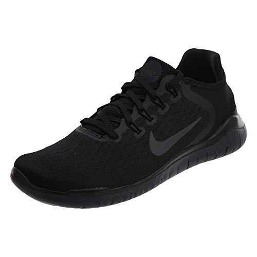 Nike Free RN 2018, Scarpe da Trail Running Uomo, Nero (Black/White 001), 41 EU