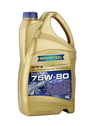 RAVENOL MTF-2 SAE 75W-80 / Getriebeöl vollsynthetisch, 4 Liter