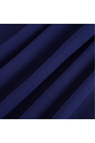 YACUN Le Donne Lace 3 / 4 Manica Matita Ufficio Cocktail Party Dress Blue
