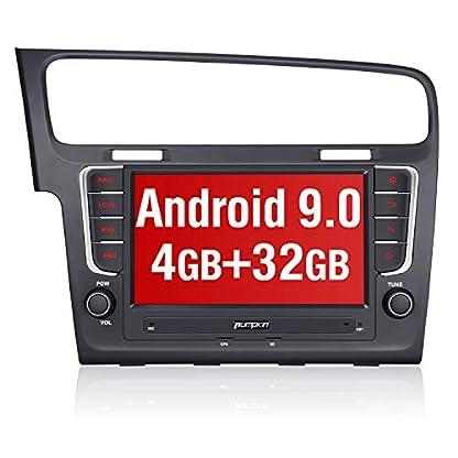 Pumpkin-Android-90-Autoradio-fr-VW-Radio-Golf-7-ab-2012-mit-Integriertes-DAB-Modul-Untersttzt-Bluetooth-Navi-USB-Android-Auto-WiFi-4G-MicroSD-2-Din-8-Zoll-Bildschirm