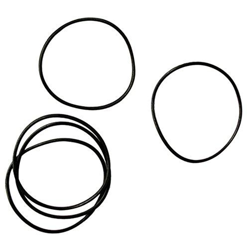 CUHAWUDBA Dichtungsring für Armbanduhren, 0,5 mm, Gummidichtung, Reparaturset, Größe 12-30 mm, 950 Stück
