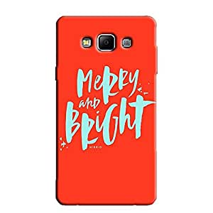 MERRY BRIGHT BACK COVER FOR SAMSUNG A8