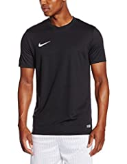 Idea Regalo - Nike Park VI, T-shirt, Uomo, Nero (Black/White), L