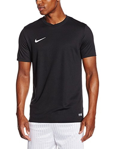 Nike Mens Park VI T-Shirt, Black (Black/White), Medium