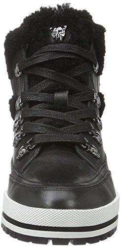 MARC CAIN Fb Sr.02 L18, Bottes courtes avec doublure chaude femme Noir - Noir (noir 900)