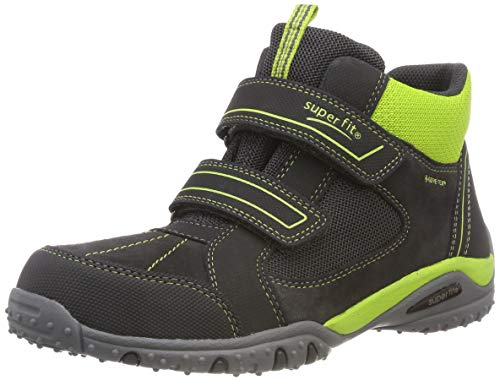 Superfit Jungen SPORT4 Hohe Sneaker, Grau (Grau/Grün 20), 31 EU - Und Grün Sneakers Grau