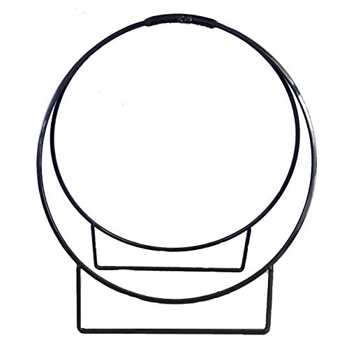 nalian® Kaminholzständer Modernes Design-Halterung Holz Range Buches Tür Buches Kaminholzkorb Tür Holz Grill Kamin - Holz-designs-buch