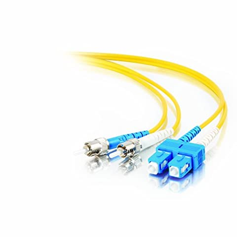 Cables to Go 85371 SC/ST Duplex 9/125 Glasfaser Single-Mode Patch