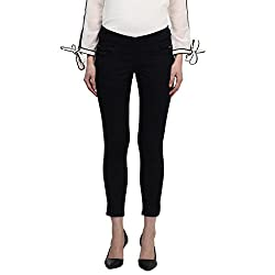 Park Avenue Woman Slim Fit Jeans (PWYX00468-B8_Dark Blue_91)