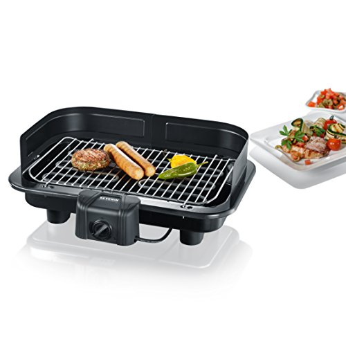 Severin PG 2791 Barbecue-Grill 2500W, colore: Nero