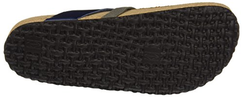 El Naturalista Ne65 Stream Oiled Lux Suede Waraji, T-Strap Sandals Femme Bleu (Ocean / Grafito)