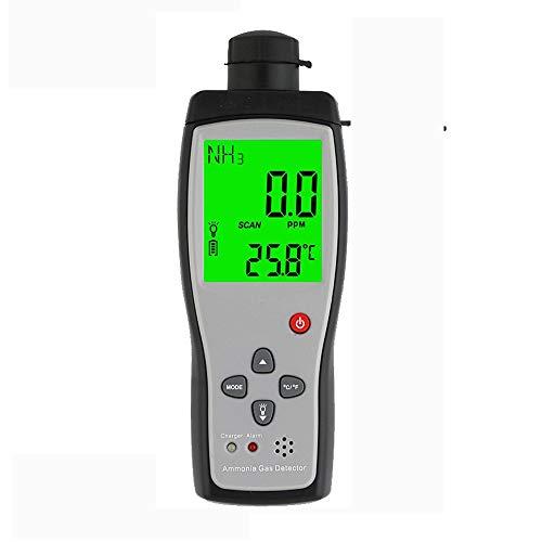 ZUEN Smart Sensor Handheld Ammoniakgas NH3 Detektor Meter Tester Überwachungsbereich 0-100PPM Sound Licht Alarm Gasanalysatoren -