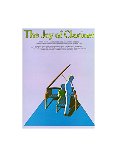 The Joy Of Clarinet. Partituras para Clarinete, Acompañamiento de Piano