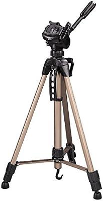 Hama Star 61 - Trípode completo, 60 - 153 cm, color bronce y negro