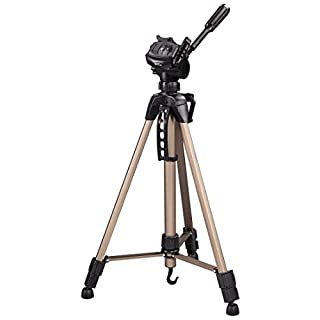 Hama Star 61 - Trípode ligero (con cabezal de 3 vías, altura 60-153 cm, peso 1220 g, trípode fotográfico con bolsa de transporte incluida), Bronce (B0000WXD0W) | Amazon price tracker / tracking, Amazon price history charts, Amazon price watches, Amazon price drop alerts