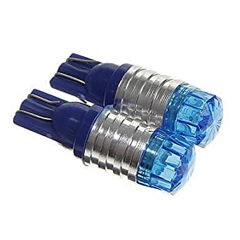 T101,5W COB 100lm 6000–6500K Blau LED Blinker Flash Auto (DC12V 2)