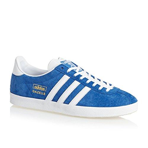 Adidas Originals Gazelle Originals, Sneakers Basses Adulte Mixte Bleu Blanc