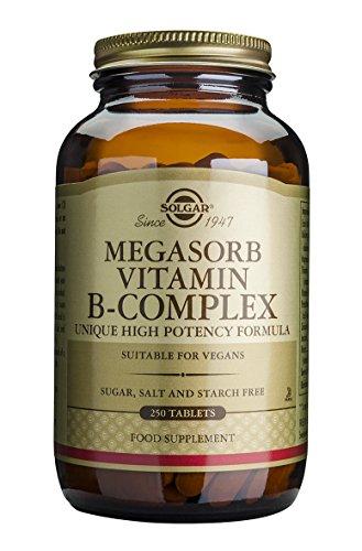 B-50-komplex 250 Tabletten (Megasorb Vitamin B-Complex