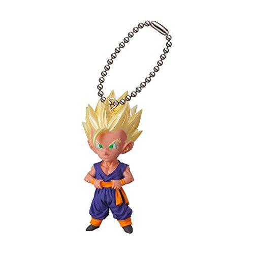 Airstep Bandai Gashapon Dragon Ball UDM V Jump Sellection 04 Figure Swing Keychain~Super Saiyan Son Gohan