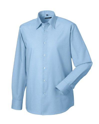 Russell Collection -  Camicia classiche  - Basic - Classico  - Maniche lunghe  - Uomo Oxford blu