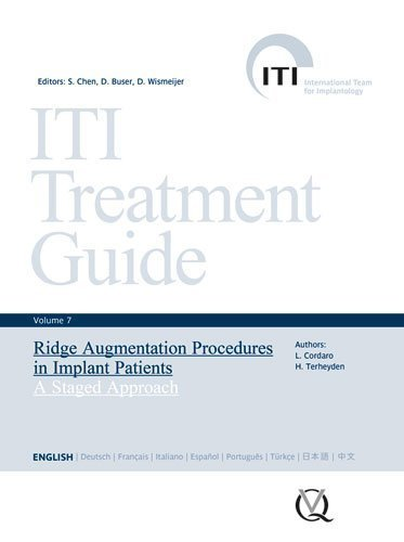 ITI Treatment Guide, Volume 7: Ridge Augmentation Procedures in Implant Patients: A Staged Approach by Stephen Chen (2014-03-07)