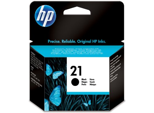 Hp21 c9351ae inkjet print cartridge, 150 pagine, nero