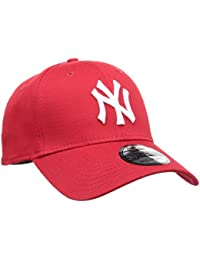 New Era Mlb Basic Ny Yankees 39Thirty Stretch Back Scarlet - Casquette de Baseball - Homme