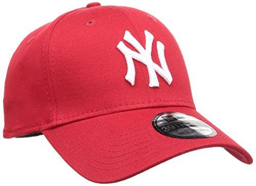 - New Era Cap  - Team: NYYANKEES  - Range: 39Thirty    - Farbe: Scarlet  - Logo: White  - 97%Baumwolle 3%Elasthan    - Fitted Cap  - erhabener Logostick  - gebogenes Schild  - perfekte Passform  - seitlich New Era Logostick  - Innennähte von Logot...