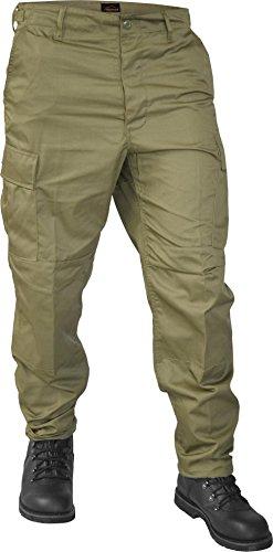 normani Lange Jagdhose Jägerhose aus robustem Baumwollmischgewebe in verschiedenen Farben Farbe Oliv Größe XL