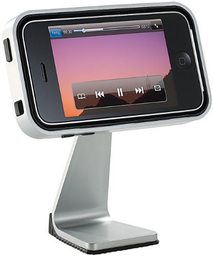 Callstel Telefonhörer iPhone: Eleganter, drehbarer Desktop-Ständer für iPhone 3G/3Gs (Telefonhörer für Smartphone)