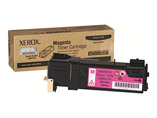 Xerox 106R01332 Phaser 6125 Tonerkartusche 1.000 Seiten, magenta -