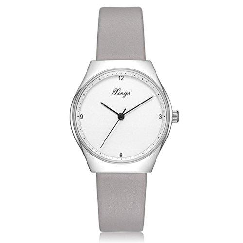 65ef0b94d64a Relojes de Pulsera Simples Casuales de Venda Reloj Cuarzo para Mujeres por  ESAILQ