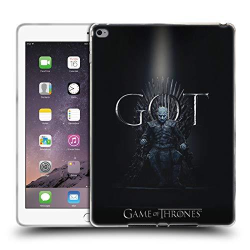 Head Case Designs Offizielle HBO Game of Thrones Night King Season 8 for The Throne 1 Soft Gel Hülle für iPad Air 2 (2014) -