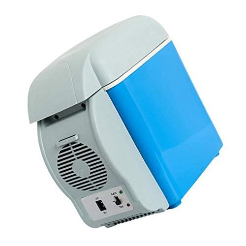 NOWAYTOSTART 12V 7.5L Mini Travel Kühlschrank Kühlbox 12V Thermoelektrisches Auto Kühl- und Wärmegerät Tragbarer Kühlschrank Mini-Kühlschrank Perfekt Elektrische Kühlbox für Auto Camping und Hause