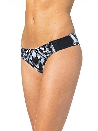 Bikini Rip Curl Bomb Chakra Cheeky Bikini Bottom Black