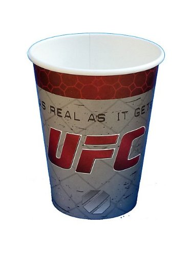UFC 12oz Paper Cups (8ct) by Havercamp