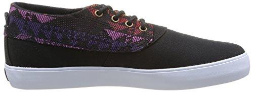 Lakai Camby Mid Oasis, Herren Skateboardschuhe black textile