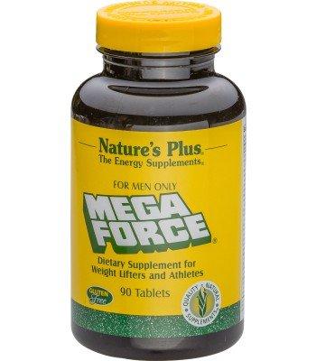Mega Force 'For Men Only' - Multivitamine für Kraftsportler, Bodybuilder und Athleten. 90 Tabletten