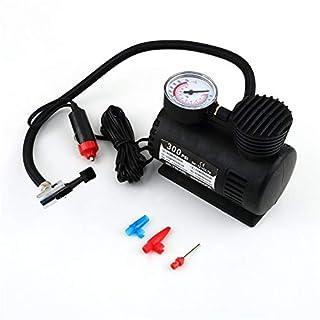KNOSSOS Black Portable 12V Auto Car Electric Air Compressor Tire Infaltor Pump 300 PSI