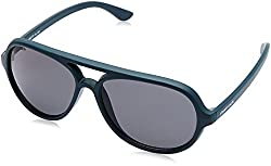 Fastrack Polarized Aviator Mens Sunglasses - (P358BU3|57|Blue Color)
