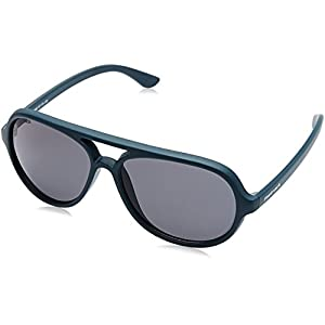 Fastrack Polarized Aviator Men's Sunglasses - (P358BU3|57|Blue Color)
