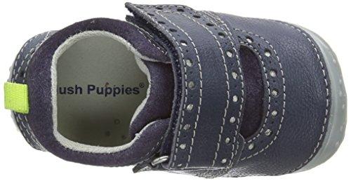 Hush Puppies Arthur, Chaussures bateau Garçon Bleu (Blue)
