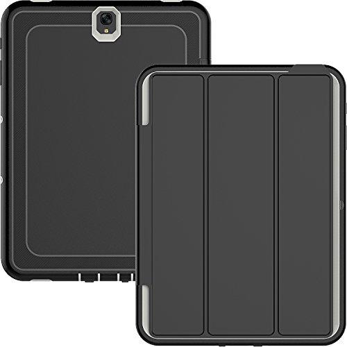 Galaxy Tab S324,6cm Fall, beimu Ständer Folio Auto Sleep/Wake Fall Dämpfung Drei Schicht Armor Defender Full Body Schutzhülle mit Integriertem Displayschutz für Galaxy Tab S3sm-t820/T825