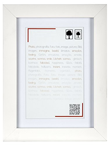 Preisvergleich Produktbild Brio Smart Rahmen Holz,  Holz,  weiß,  3 x 23 x 33 cm