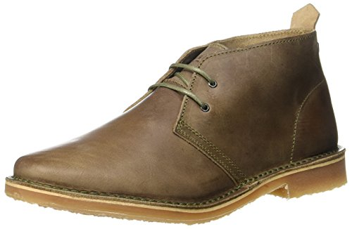 Desert Combat Boot (JACK & JONES Herren JFWGOBI Leather Taupe Gray Desert Boots, Grau, 42 EU)