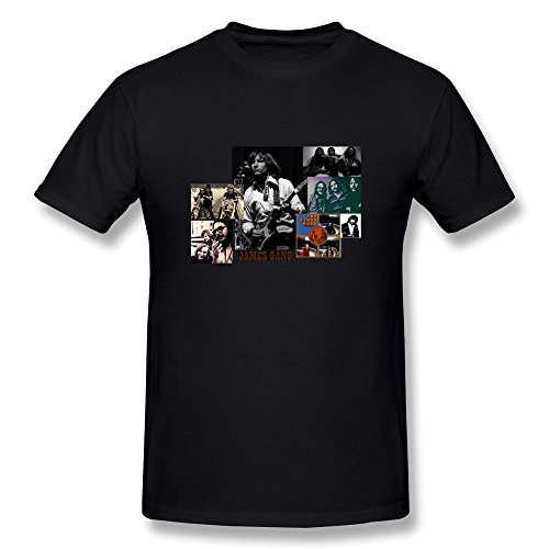 n T-Shirt Gr. Large, Schwarz - Schwarz (Hard-rock-dc-halloween)